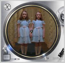 "The Shining #1 Grady Twins Slip mat 12"" Lp Scratch Pad Djing Slipmat Audiophile"