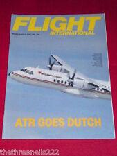FLIGHT INTERNATIONAL - ATR GOES DUTCH - June 21 1986