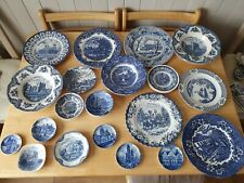 More details for job lot of vintage blue and white tableware collectables 20+ pieces.