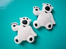 Jibbitz Clog Charm Plug Accessories Crocs Shoes Wristband Bracelet  2 Polar Bear