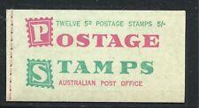 AUSTRALIA SCOTT 365b 2 MNH PANES/6 - 1963 5p GREEN  ELIZABETH II ISSUE   CV $70