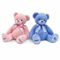 Keel Toys Nursery Bobby Bear New Baby Soft Toy Gift Boy Girl