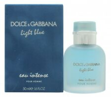 DOLCE & GABBANA LIGHT BLUE EAU INTENSE POUR HOMME EAU DE PARFUM EDP 50ML SPRAY