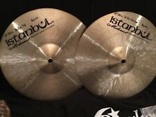 """NEW 12"""" Istanbul Mehmet Traditional Hi Hats (Cymbals, Pair, 738/853 gs)"""