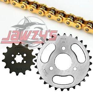 SunStar 420 MXR Chain 13-28 T Sprocket Kit 43-2198 for Suzuki/Kawasaki