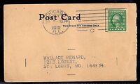 1912 Chicago to St Louis - 408 w/ Schermack Type III - Illinois Commercial Men's