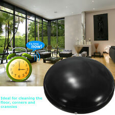 """7"""" Home Robotic Smart Automatic Cleaner Robot Microfiber Mop Dust Cleaning Black"""