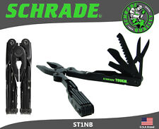 Schrade Tough Tool Black Stainless 20 Function Pliers Multi-Tool ST1NB