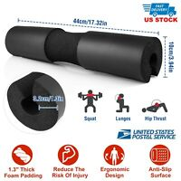Barbell Pad Supports Squat Bar Weight Lifting Pull Up Neck Shoulder Protect Gym