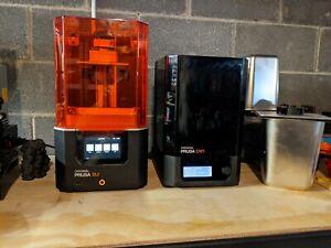 Original Prusa SL1 3D Printer and CW1 Curing/Washing Machine BUNDLE