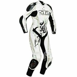 Lindstrands Ladies Silverstone One Piece Motorcycle Leathers UK 12 Eu 40 Sale