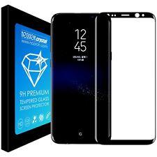 Vetro Temperato Pellicola Proteggi Schermo Curvo Display Edge Samsung S8+ Plus