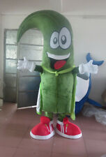 Green Plant Mascot Costume Suits ** Game Dress Outfits Advertising Halloween