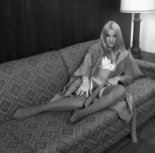 1960s Fred Enke Negative, gorgeous blonde pin-up girl Janice Kennedy, t202891
