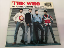 """THE WHO """"MY GENERATION"""" ORIG FR EP 1966 EX/VG"""