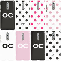 DYEFOR PERSONALISED INITIALS B PHONE CASE COVER FOR NOKIA