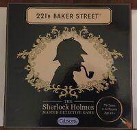 221b Baker Street Game The Sherlock Holmes Master Detective Board Game NEW