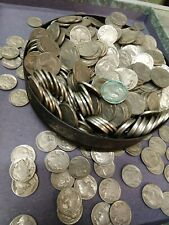 Full Date Buffalo Indian Nickel 40 Coin G+ Roll 1930s Dates Estate Hoard Lot
