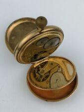 Waltham Pocket Watch in 20 Year Rolled Gold Hunter Case for Restoration (BM28)