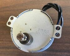 Synchronous Motor 120v Ac 60 Rpm Reversing 4w 7mm Shaft E149393