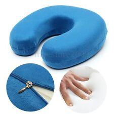 Memory Foam U Shaped Travel Pillow Neck Support Head Car Office Rest Cushion New
