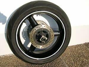 Hinterrad komplett rear wheel with tire Yamaha YZF-R6 RJ03 1999 - 2002