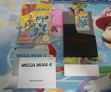 Juego Completo Nintendo Nes Megaman 4 Versión Pal B Españolizado Original CIB