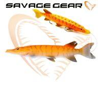 Savage Gear 3D Line Thru Pike 20cm 66g Predator Lure Fishing Bait Tackle Perch