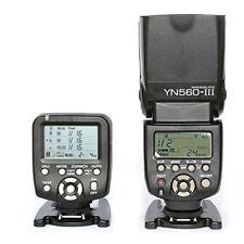 Yongnuo YN560-TX LCD Wireless Flash Controller + YN560 III Flash F Canon T7I SL3