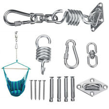 Hanging Chair Hammock Fixing Kit Swivel Snap Hook Patio Spring Ceiling Mount