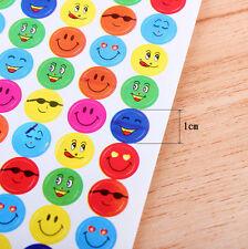 Farbe Schule Kinder Star Belohnung Wort Aufkleber 1120Pcs Lächeln Gesicht