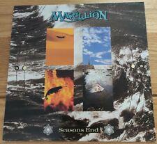 MARILLION Vinyl LP Season's End Gatefold EMI EMD 1011 1981 EX/EX
