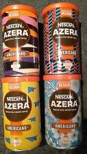 4 X Different Nescafe Azera Limited Edition Design Designer Coffee Tins EMPTY