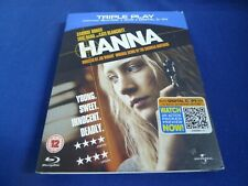 Hanna (Blu-ray and DVD Combo, 2011, 2-Disc Set)