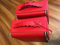2 x Estee Lauder train case makeup cosmetics bags 2018 new (price is for two)