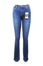 WAKEE LIGHT BLUE HIGH RISE BOOTCUT JEANS