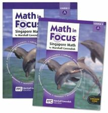 8th Grade Math in Focus Semester 1 8A Student Teacher Edition Course 3 Kit 8