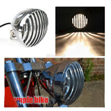 Chrome moto festonnée phare ailettes grill headlight pr harley XS650 XL chopper