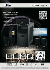Brand New !!  BNW Acoustics RS-9 Home Theater System