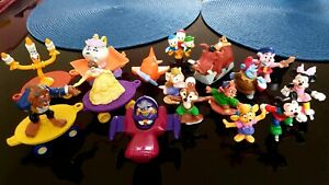 1990s McDonalds Ducktales Chip 'n' Dale Mickey Beauty & The Beast Darkwing