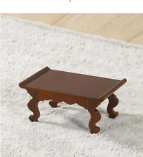 Mini Wooden Table New Korea Traditional Vintage Antique Coffee Side Small Wood