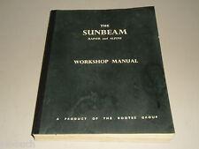 Reparaturanleitung Werkstatthandbuch Workshop Manual Sunbeam Rapier Alpine, 1966