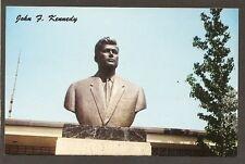 postcard...BUST.....JFK.....FONTANA, CA