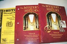 3 pc. LINDA HOBAR MYSTERY OF HISTORY-VOLUME 3 READER/COMPANION AND TIMELINE FIG.