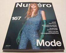 Numéro French Fashion Magazine #167 Octobre 2015 - Molly Bair Cover - Brand New