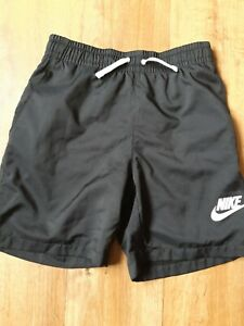 Boys Black Nike Swim Shorts 10-12 Years