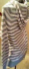 Womens Teens  TOP SWEET GIRL Hooded Striped Sweater Cardigan Top Plus XL Long
