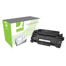 Q-Connect HP 55a Remanufactured Black LaserJet Toner Cartridge Ce255a