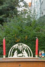 TRUE VINTAGE DDR SCHWIBBOGEN 80er VEB Schönebeck KRIPPE Candle Arch GDR 80s