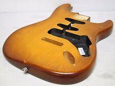 2012 Fender USA Nitro Satin Stratocaster BODY Honeyburst American Strat Guitar